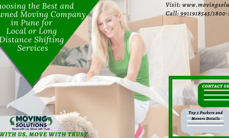 Pune Packers and Movers Charges