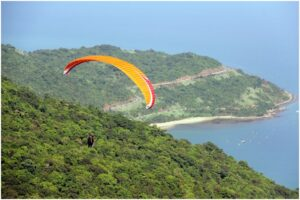 Paragliding in Son