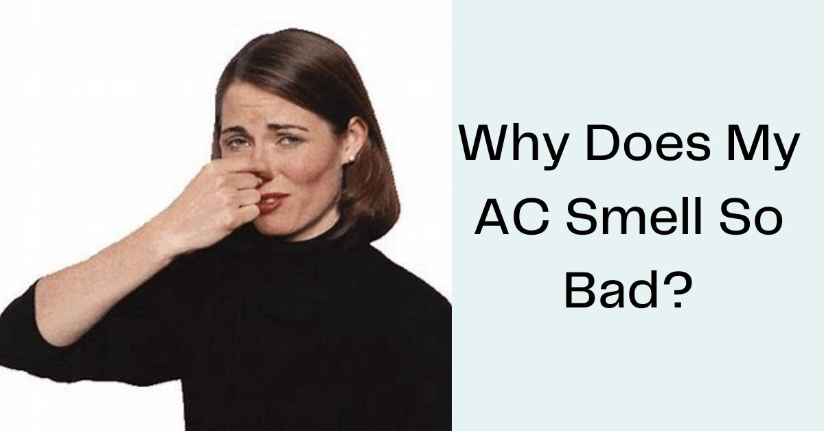Why does my AC Smell so bad?